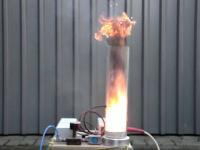 Explosiekracht van 2 gram poederlak!